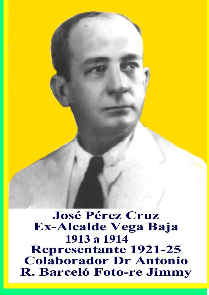 José Pérez CruzAlcalde de Vega Baja