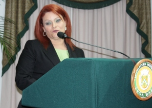 Janet Miranda Rodríguez, Presidenta de la Legislatura Municipal