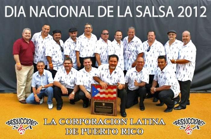BAMBINO EN DIA NACIONAL DE LA SALSA 2012