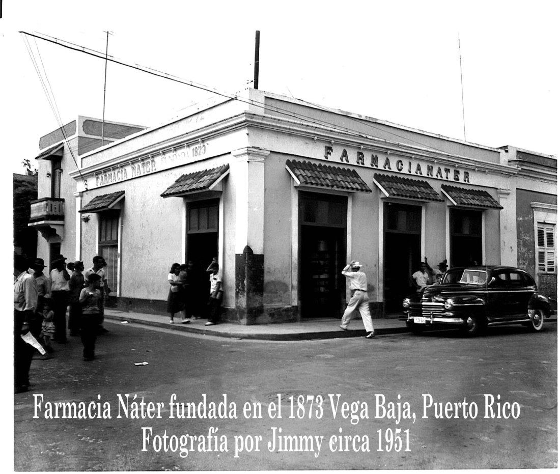 Farmacia Nater foto 1950