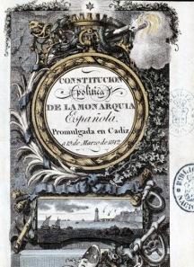 CONSTITUCION , FERNABDO VII