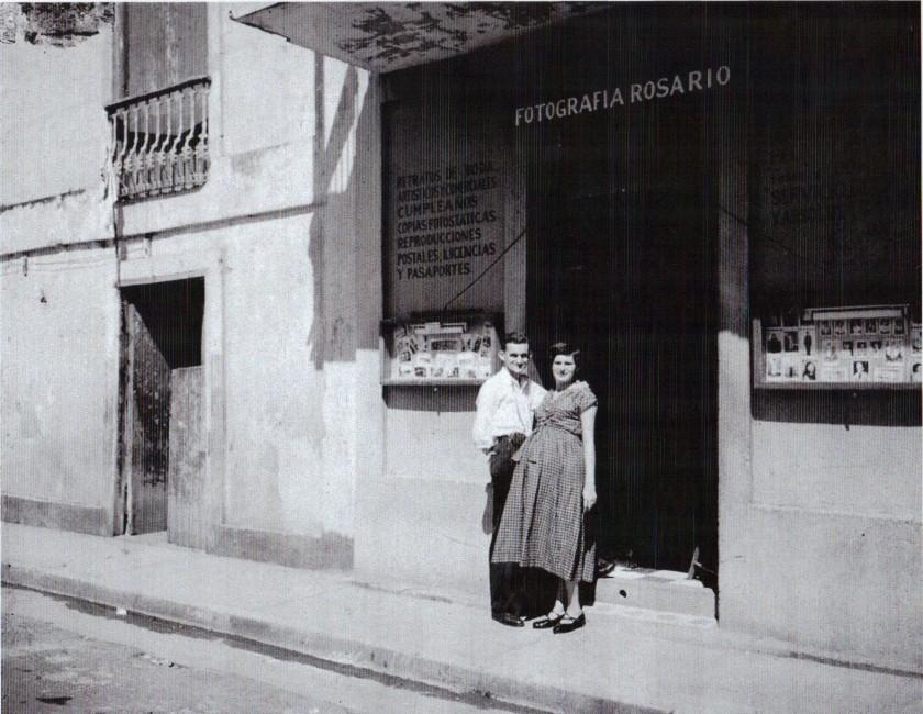 FJR 69001 FOTOGRAFIA ROSARIO EN 1952