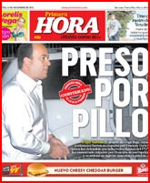 EDGAR SANTANA PRESO POR PILLO