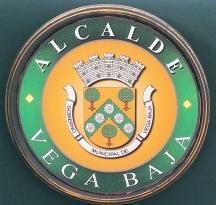 ESCUDO ALCALDE DE V EGA BAJA