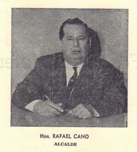 PROGRAMA FIESTAS PATRONALES 1963 15 Rafael Cano Alcalde