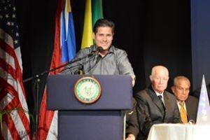 SALON DE LA FAMA DEL DEPORTE 8VA EXALTACION JULIO DAVILA NORMANDO VALENTIN