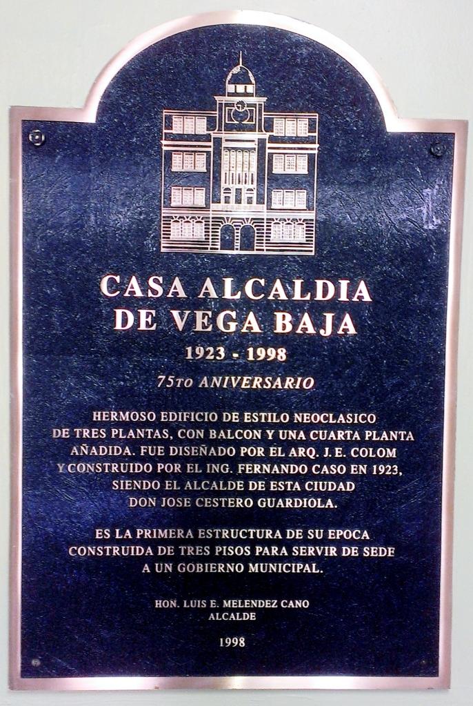 TARJA CASA ALCALDIA