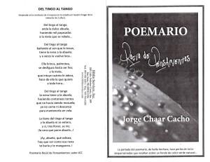 POEMARIO ROCIO DE PENSAMIENTOS JORGE CHAAR CACHO