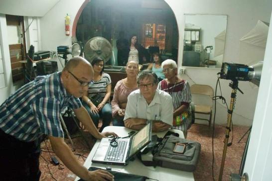 CLASE DE HISTORIA DEL TREN EN LA ESCUELA DE LA HISTORIA VEGABAJENA 7
