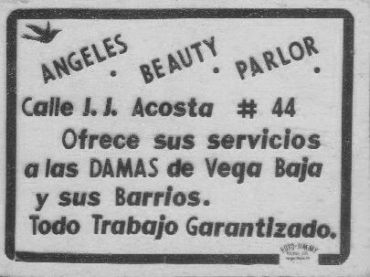 FJR 69001 ANUNCIO DE ANGELES BEAUTY SALON PARA TEATRO AMERICA 1952 (2)