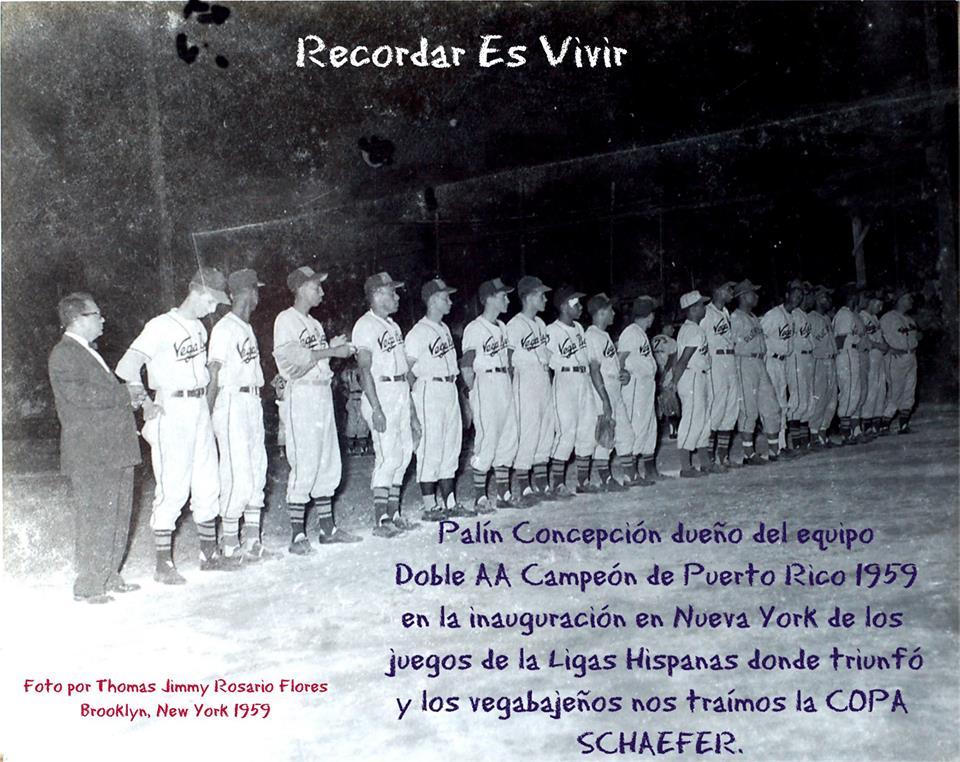 FJR EQUIPO DE VEGA BAJA EN 1959