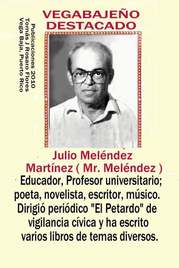 Julio Melendez