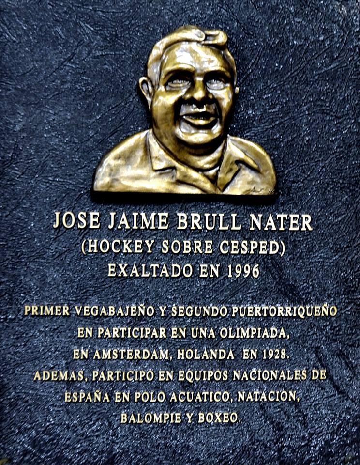 SALON DE LA FAMA TARJA DE JAIME BRULL NATER