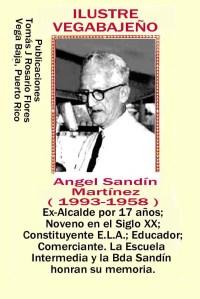 Angel Sandin Martínez  Ex-alcalde