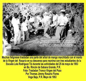 AVSG 14 Actividad Virgen del Pozo Cargan 1953