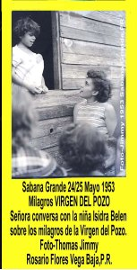 AVSG 19 Actividad Niña conversa Milagros Virgen 1953