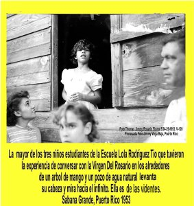 AVSG 20 Actividad Religiosa Sabana Grande 1953 Isidra Belen