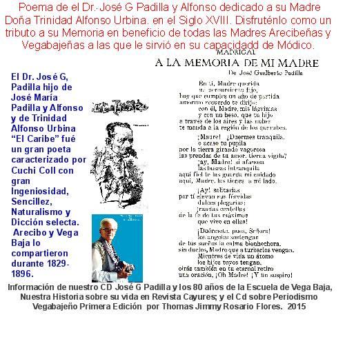 JOSE GUALBERTO PADILLA POEMA A LA MEMORIA DE MI MADRE