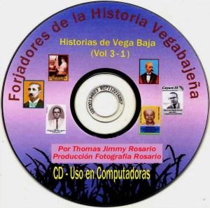 Adelanto 003-1 CD Etiqueta Forjadores Vol 3-1