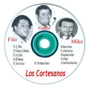 0015 CD Caratula Los Cortesanos Etiqueta