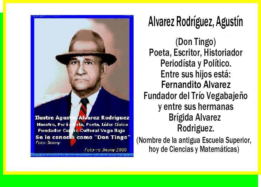 Alvarez Rodriguez, Agustín