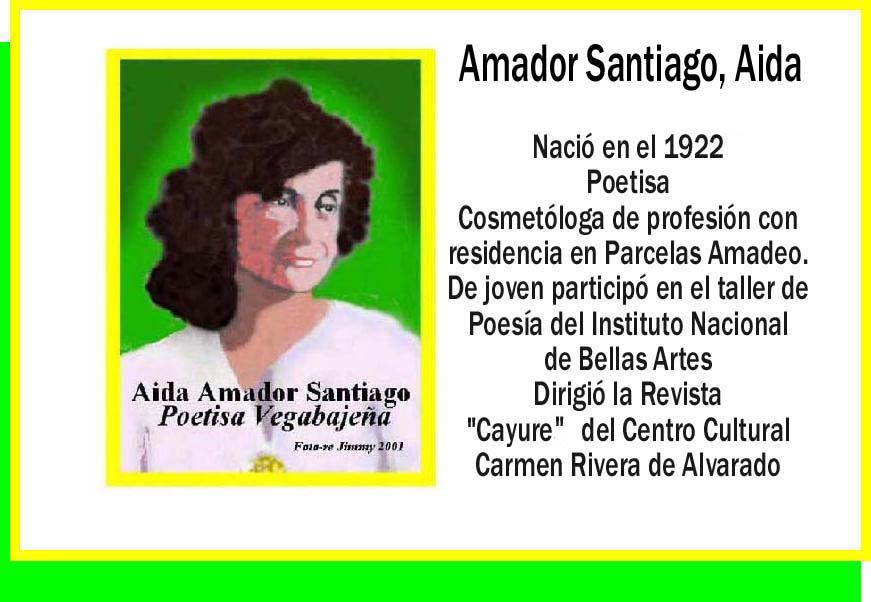 Amador Santiago, Aida
