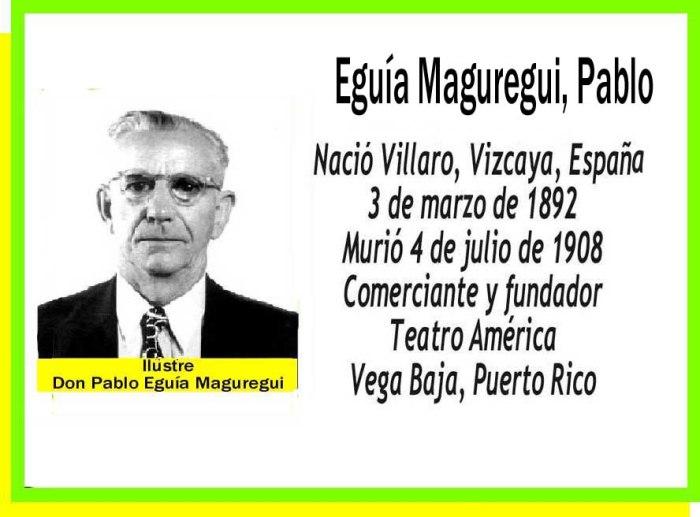 Eguía Maguregui, Pablo