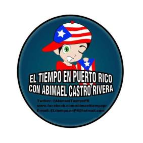 LOGO EL TIEMPO EN PUERTO RICO CON ABIMAEL CASTRO RIVERA