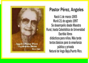 Pastor Pérez, Angeles