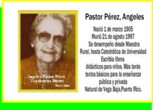Pastor Pérez, Angeles