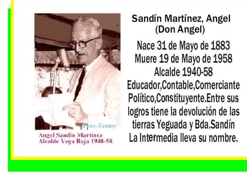 Sandín Martínez, Angel