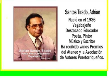 Santos Tirado, Adrían