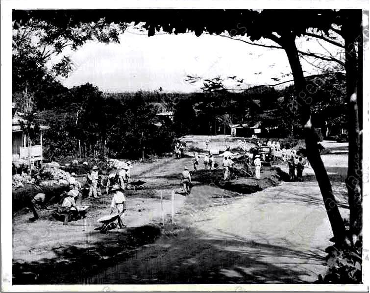 14=jun-1941 Clon arreglo de la carretera 2 en Puerto Nuevo, VB