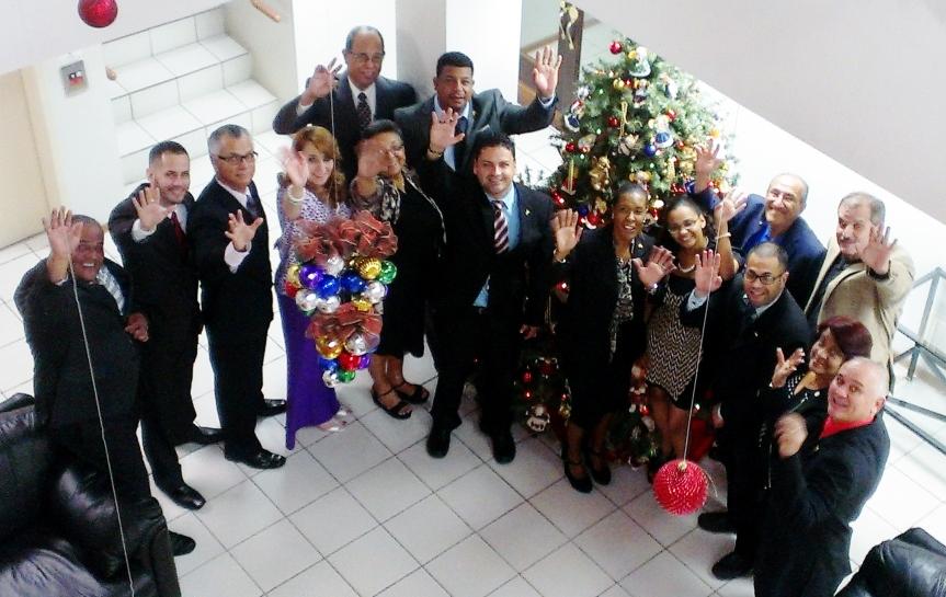LEGISLADORES MUNICIPALES EN EL ENCENDIDO DE NAVIDAD 2015