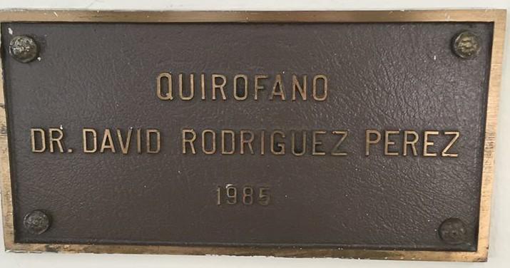 QUIROFANO DR DAVID RODRIGUEZ PEREZ