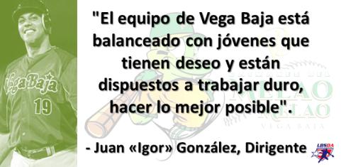 CITA DE JUAN IGOR GONZALEZ