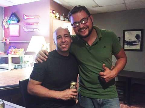 ENCUENTRO ENTRE ROLANDO REYES Y JIMMY ROSARIO