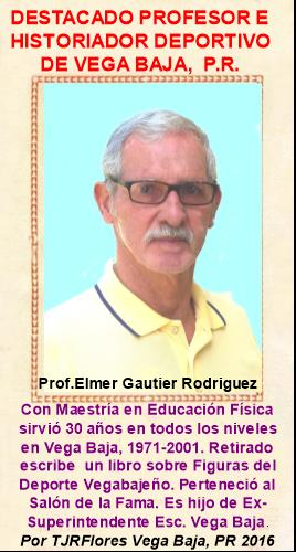 Panel Destacado Elmer Gautier Rodriguez Historiador Deportivo