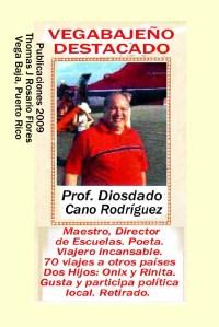 Diosdado Cano Rodríguez Maestro Retirado