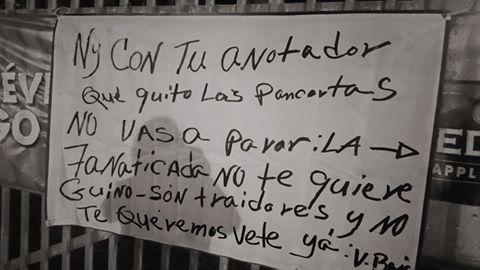 PROTESTA CONTRA EL APODERADO