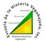 logo biblioteca electronica vegabajeña
