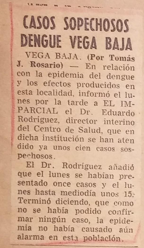 TJRF 1963 EL IMPARCIAL INFORMACIONES SOBRE DENGUE (1)