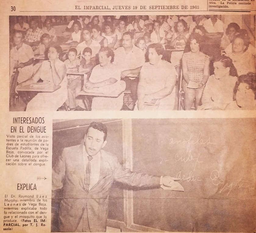 TJRF 1963 EL IMPARCIAL INFORMACIONES SOBRE DENGUE (2)