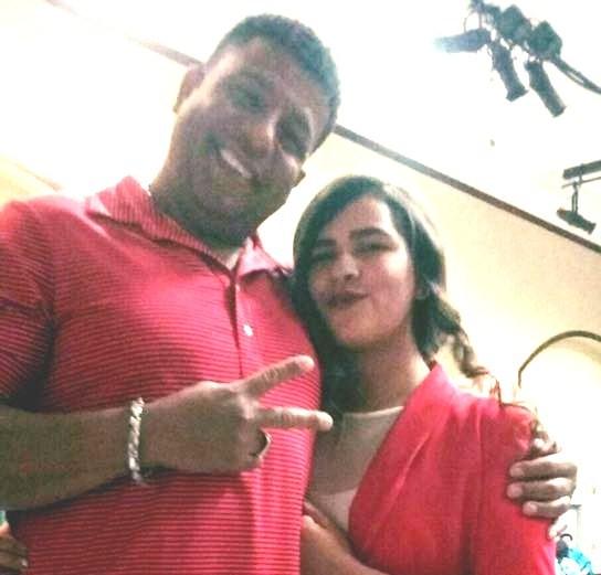 Rafael Martinez Piro e hija