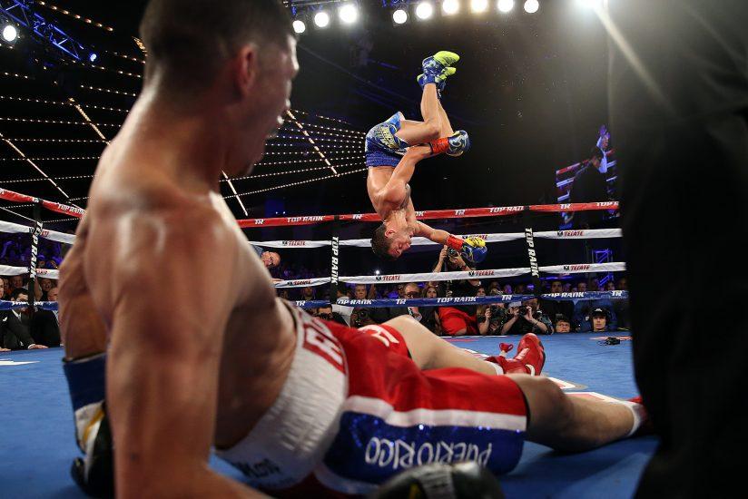 Rocky Martinez nockaut de Casyl Lomachenko